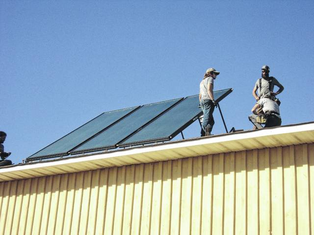 Carolina Heritage Winery expands solar support system
