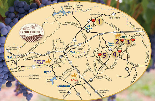 Wines, equines greet visitors in Tryon Foothills